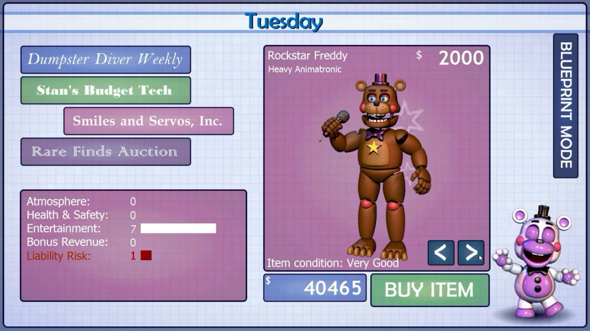 How To Unlock All Achievement Badges In Freddy Fazbears Pizzeria