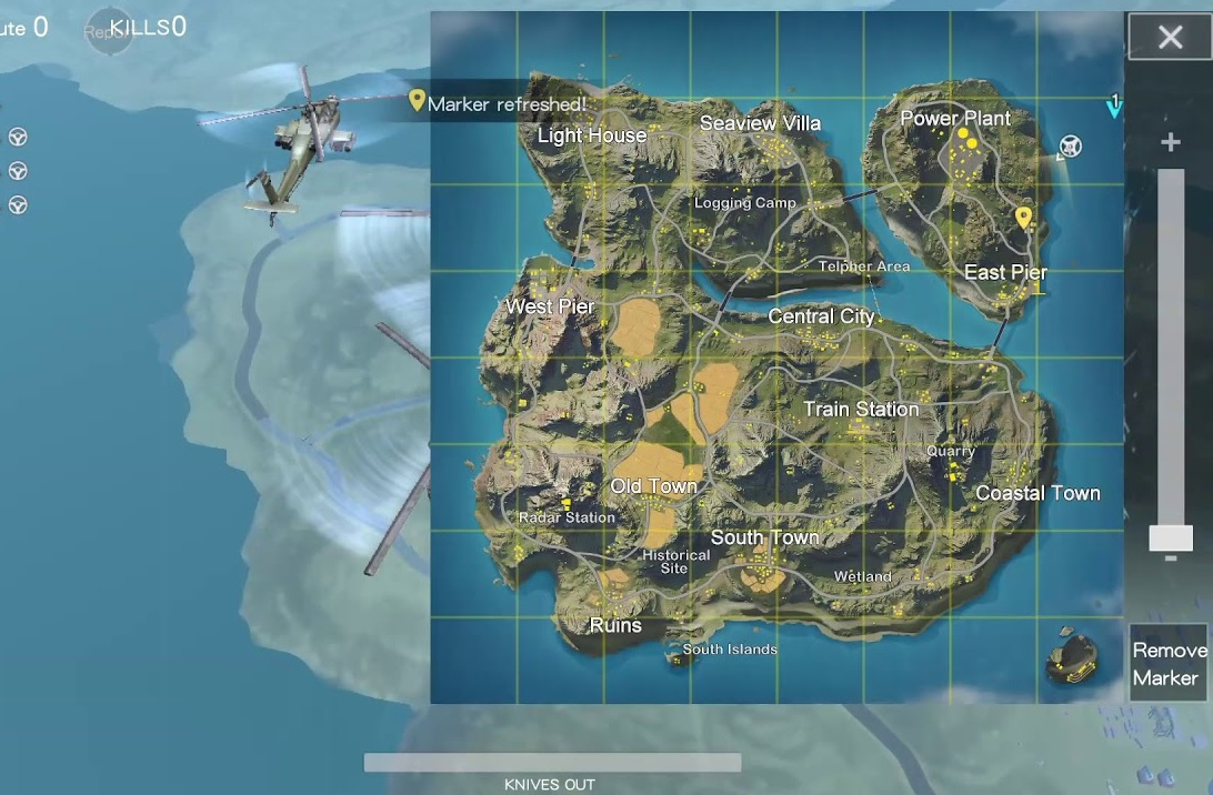 rules of survival test server