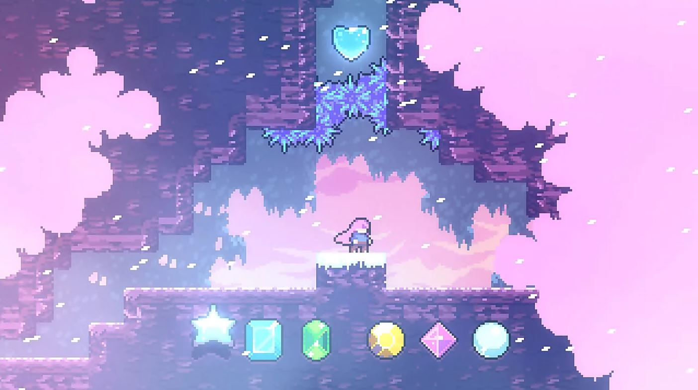 Crystal Heart Locations Celeste