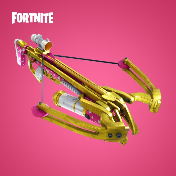 The new crossbow                          © Fortnite / Epic Games / Fair Use