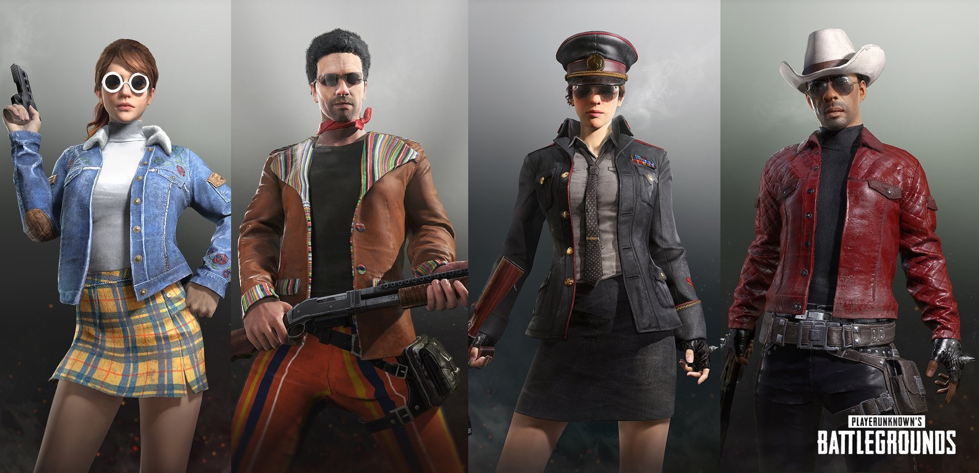 Some of the new gear you might get - PlayerUnknown's Battlegrounds / PUBG Corporation / Fair Use