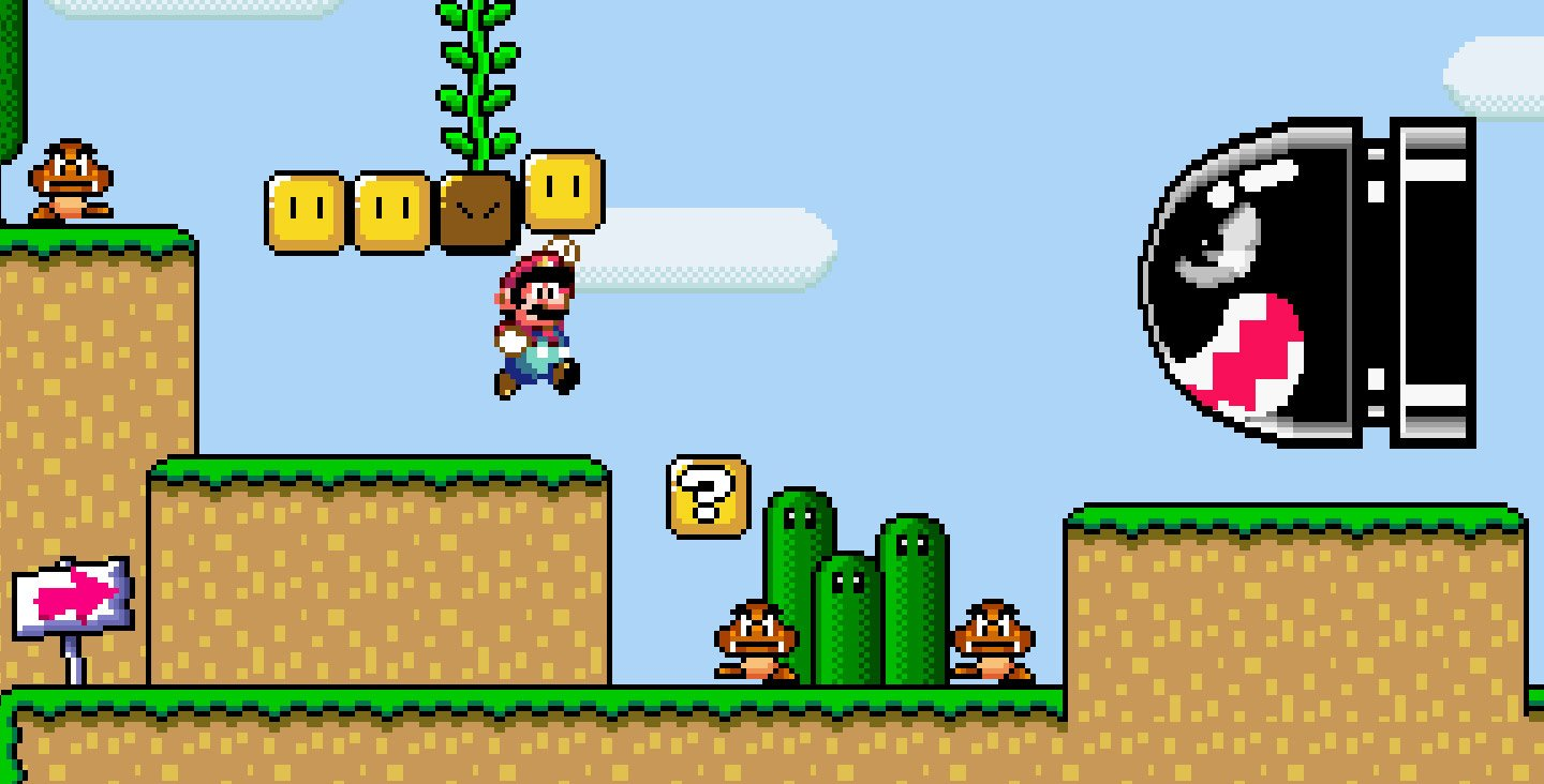 Super Mario World. (Source: GamesTM)