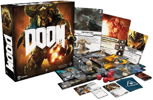 © DOOM: The Board Game / Fantasy Flight Games / Fair Use