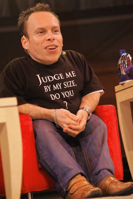 Credit: Official Star Wars Blog - 2007 Disney Weekends #4: Warwick Davis, CC BY 2.0