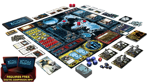 © XCOM: The Board Game / Fantasy Flight Games / Fair Use