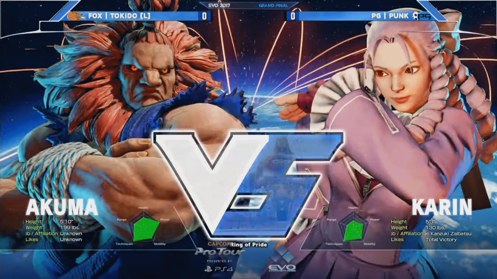 EVO is the biggest fighting game tournament around