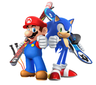 ©  Mario & Sonic at the Olympic Winter Games: Sochi 2014 / Nintendo / Fair Use