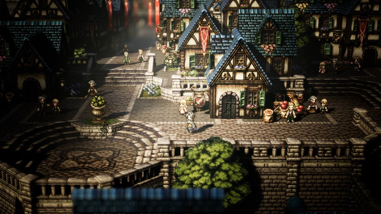 Square Enix Unveils New Octopath Traveler Screenshots Allgamers
