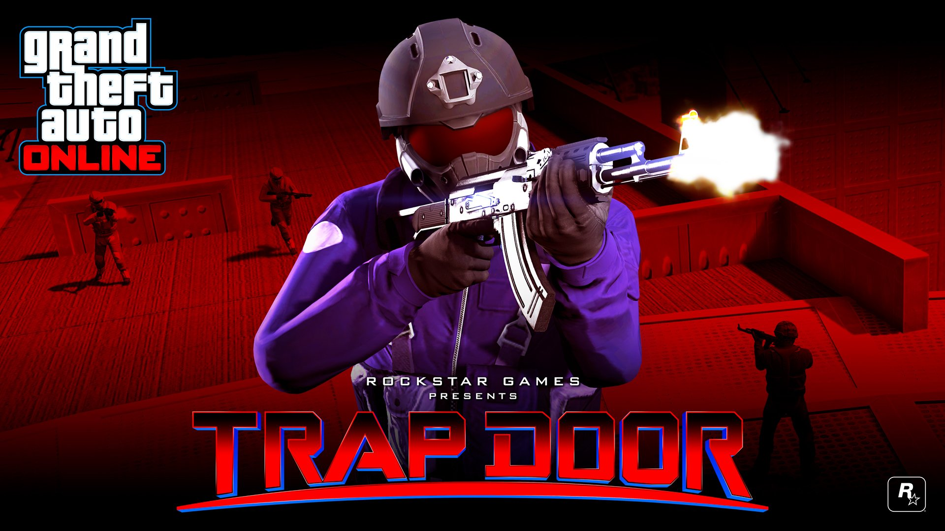 Rockstar  sc 1 st  AllGamers & Grand Theft Auto 5 adds battle royale mode Trap Door | AllGamers