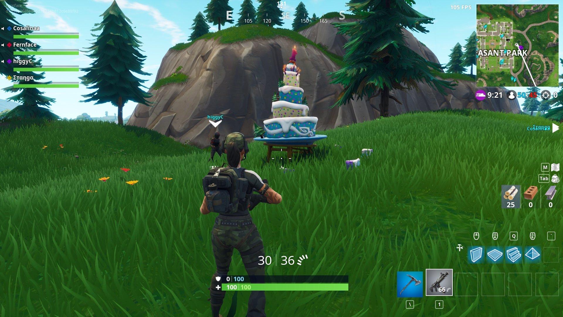 Pleasant Park's Birthday Cake © Epic Games