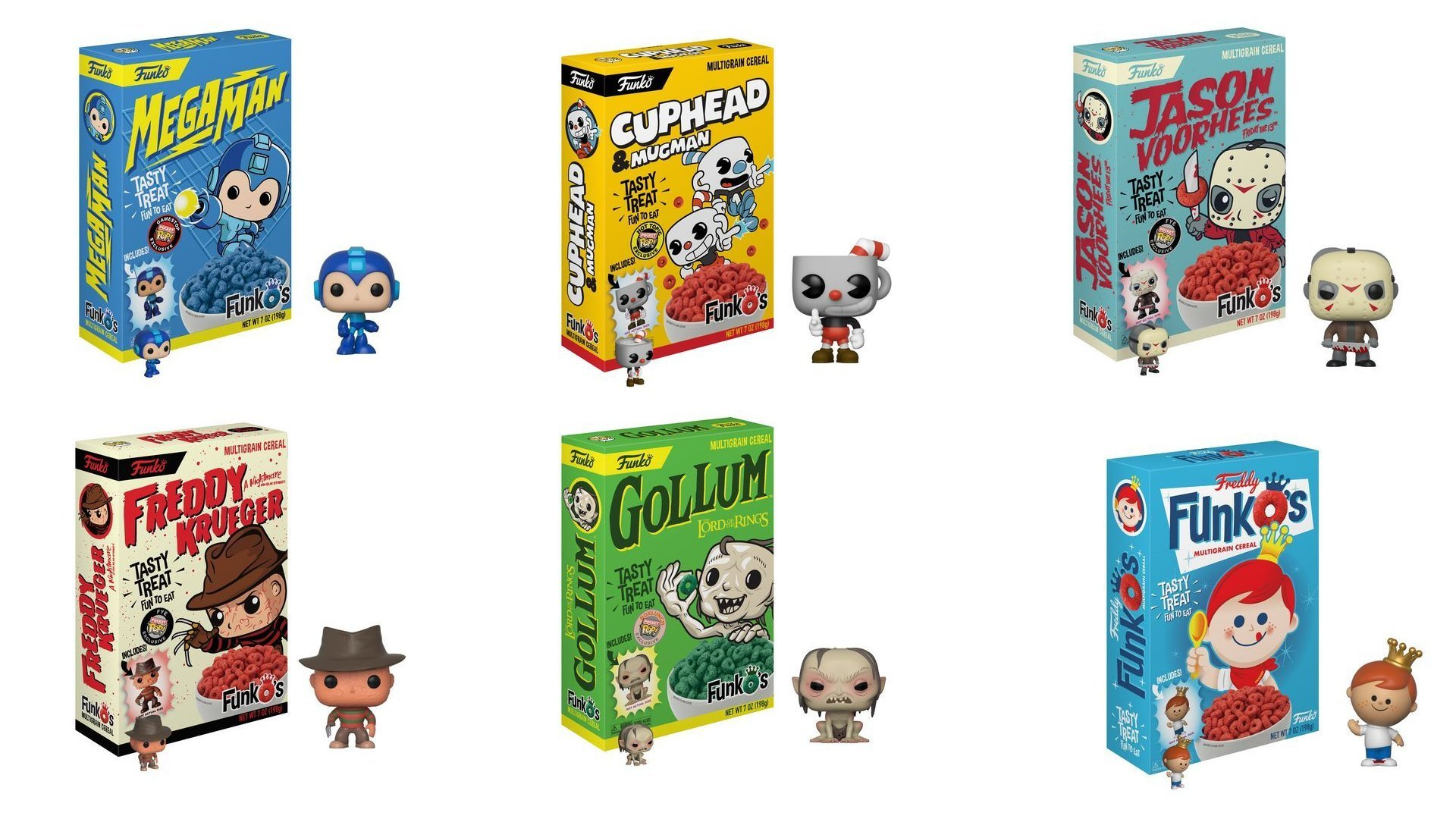 Funko Making Cuphead And Megaman Cereal Allgamers