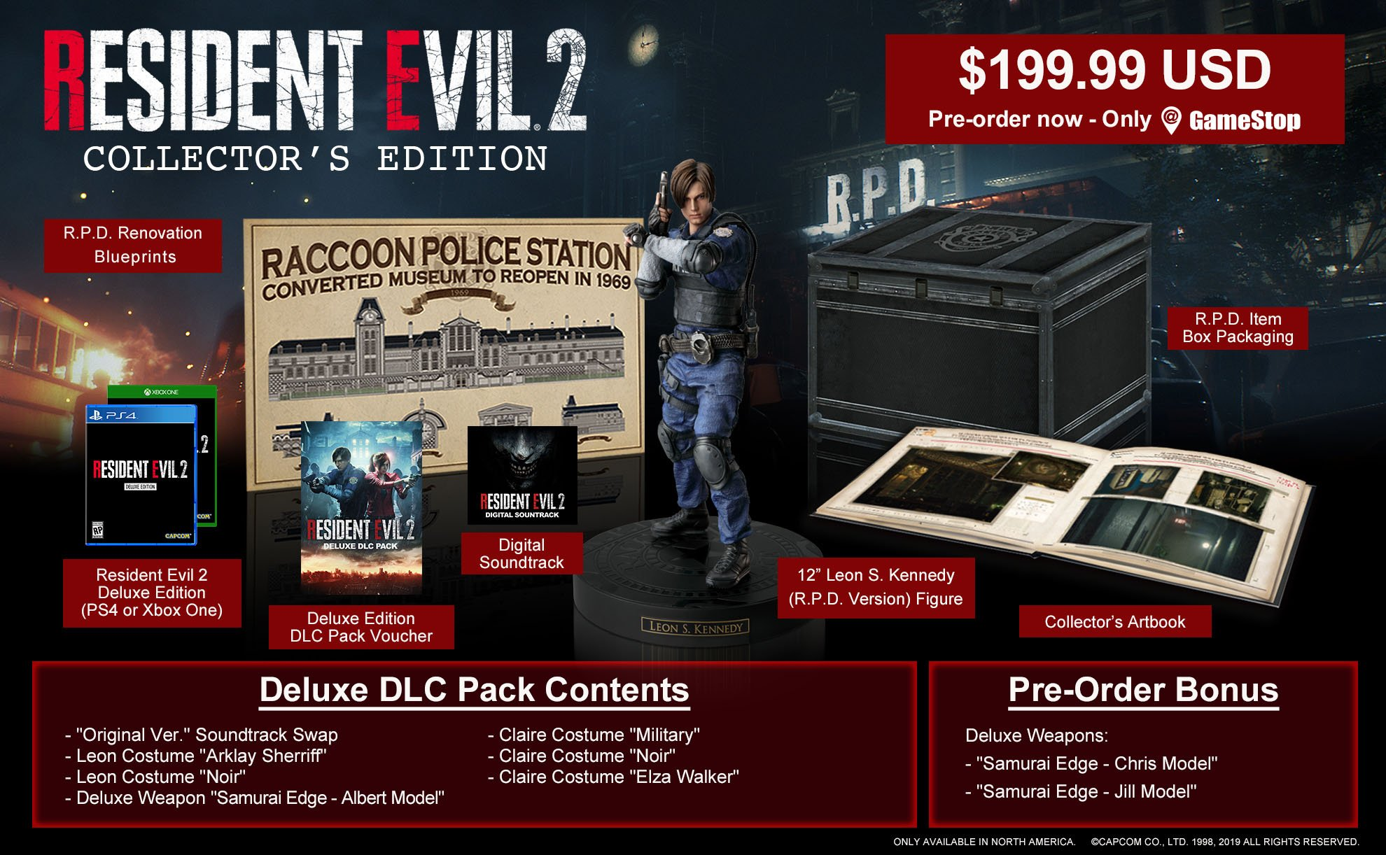 Resident Evil 2 Collector's Edition revealed