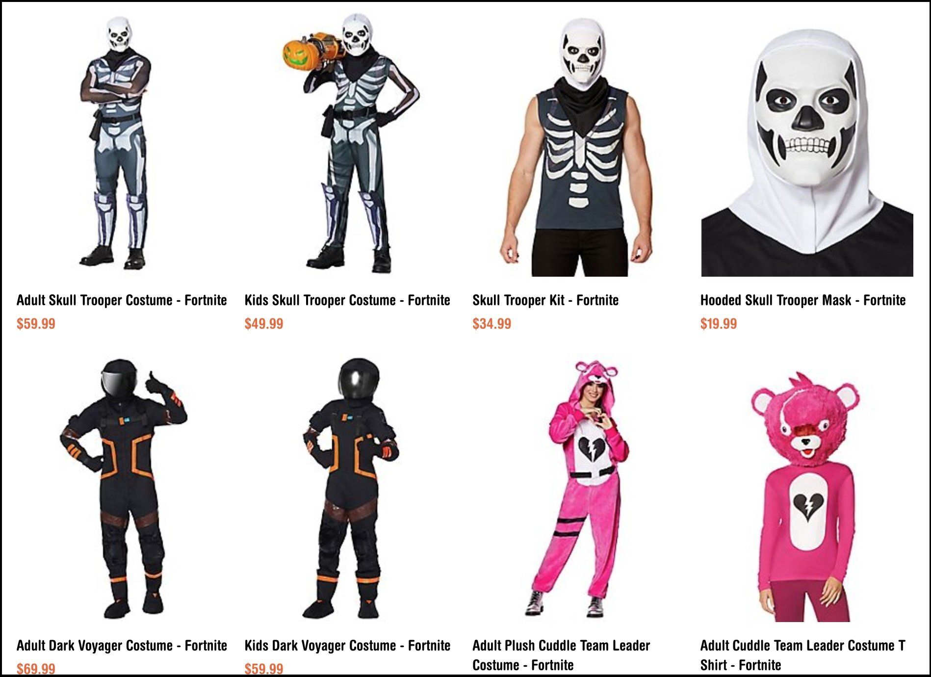Spirit Halloween And Spencer S To Sell Fortnite Costumes Allgamers