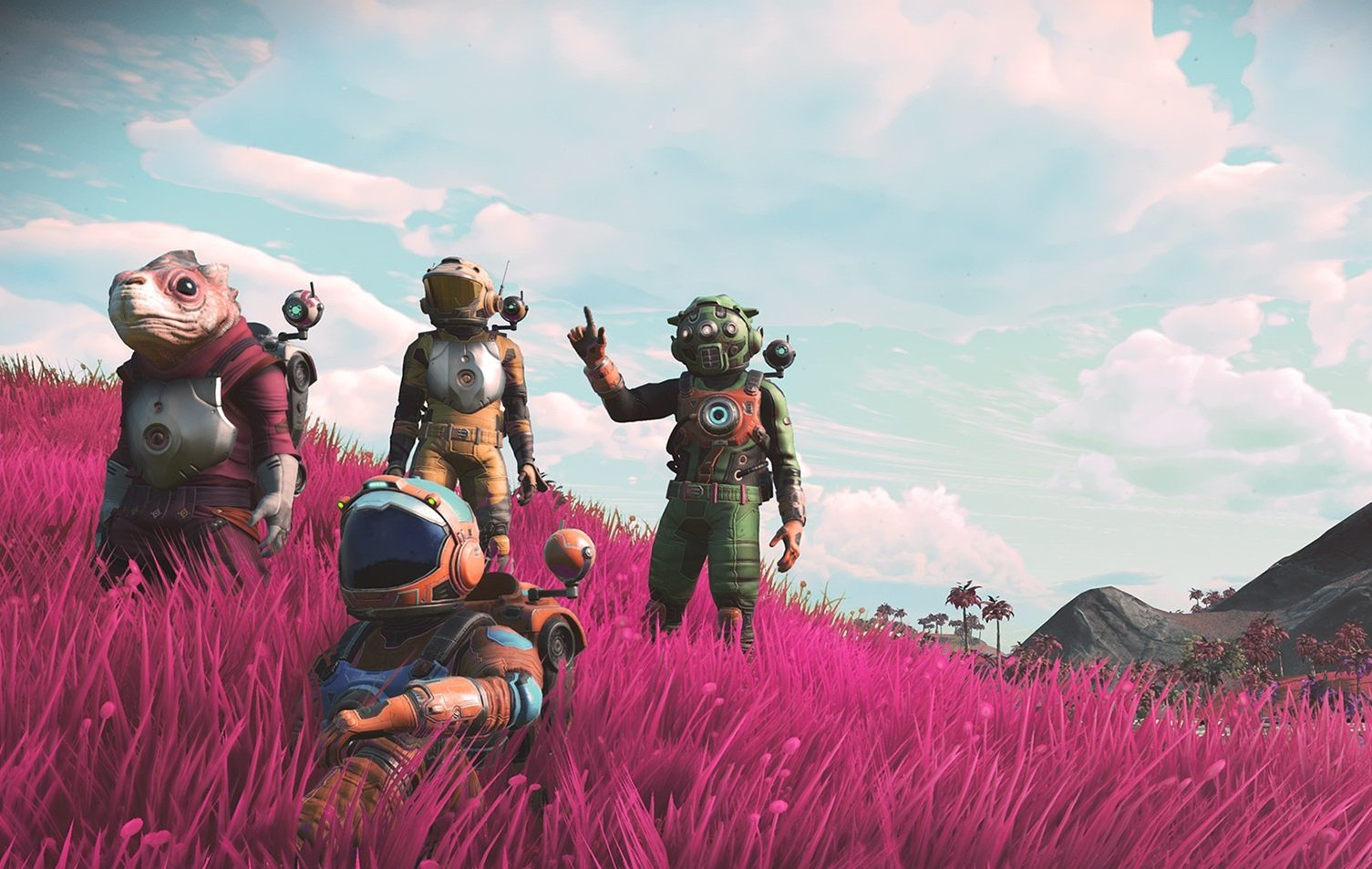 No ManS Sky First Person