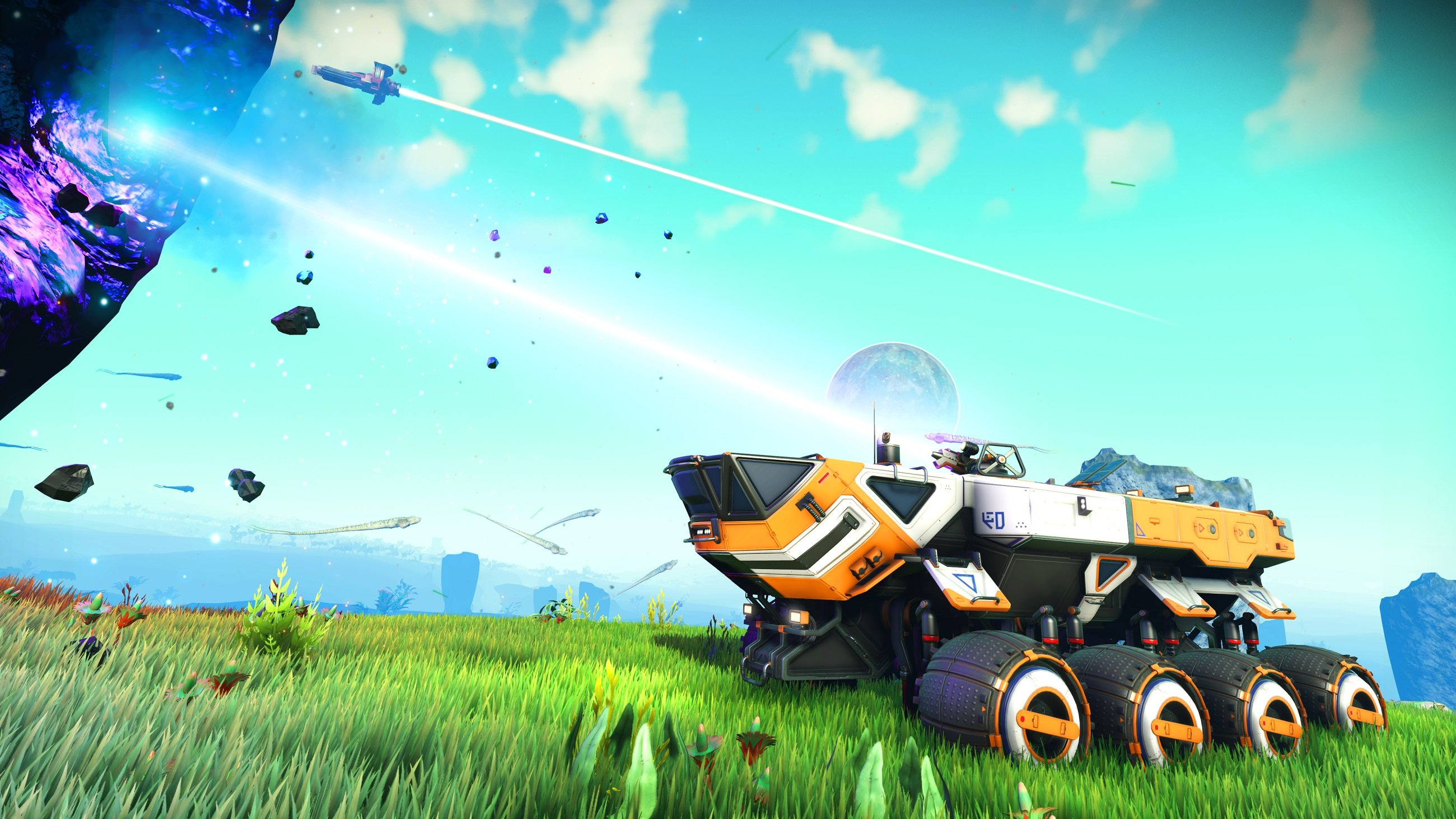How to get an exocraft vehicle in No Man's Sky