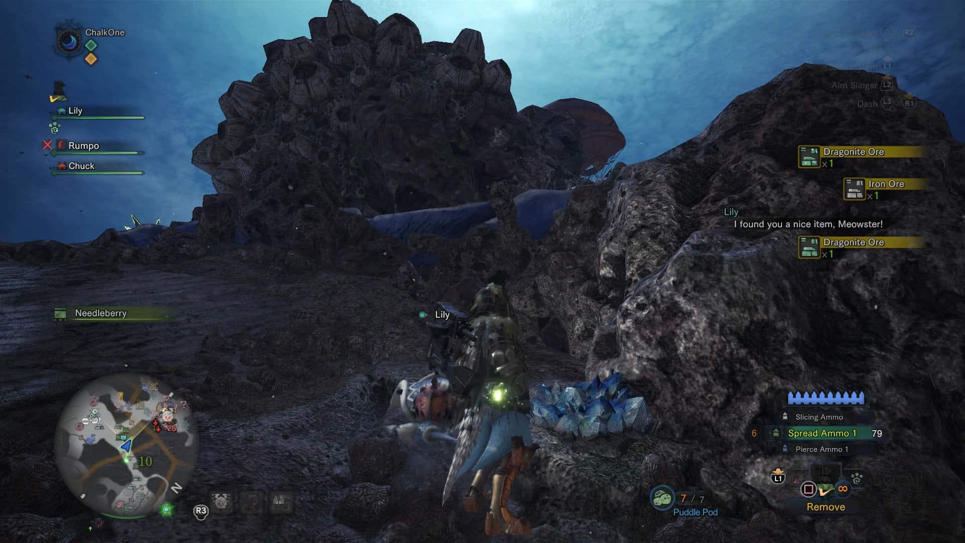 coral ore monster hunter world