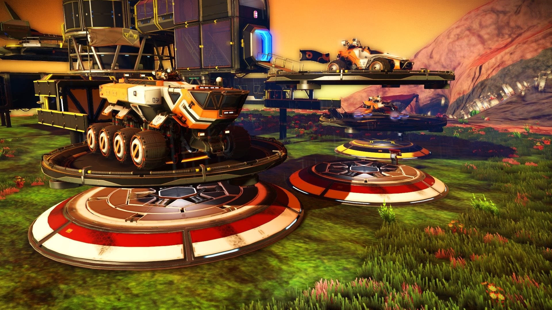 How to get a vehicle in No Man's Sky