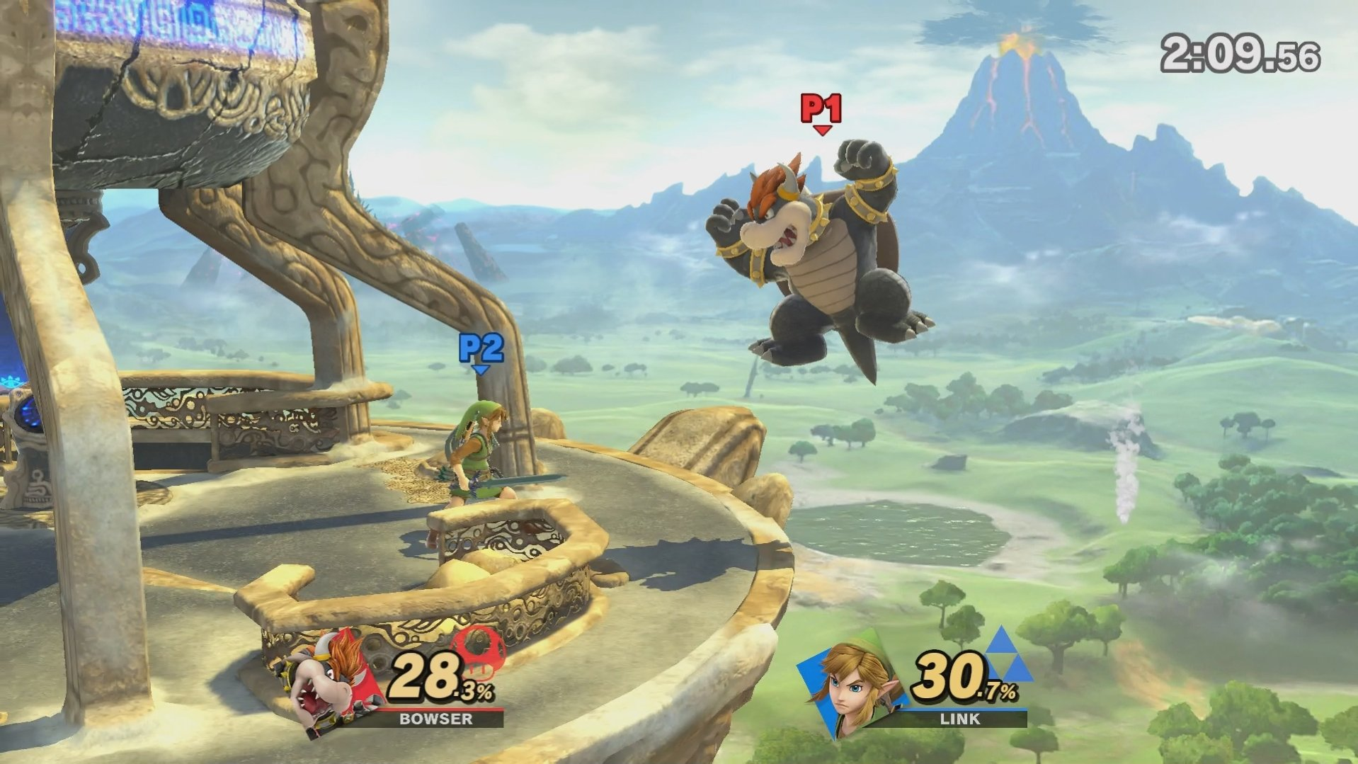 Heavyweights like Bowser have been given a speed boost © Nintendo