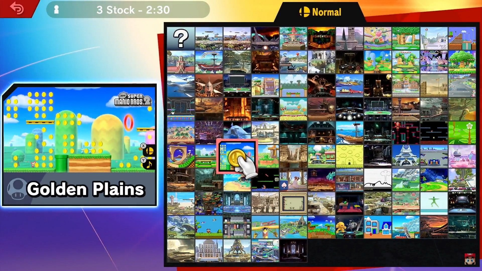 Image result for smash brothers ultimate direct stage select