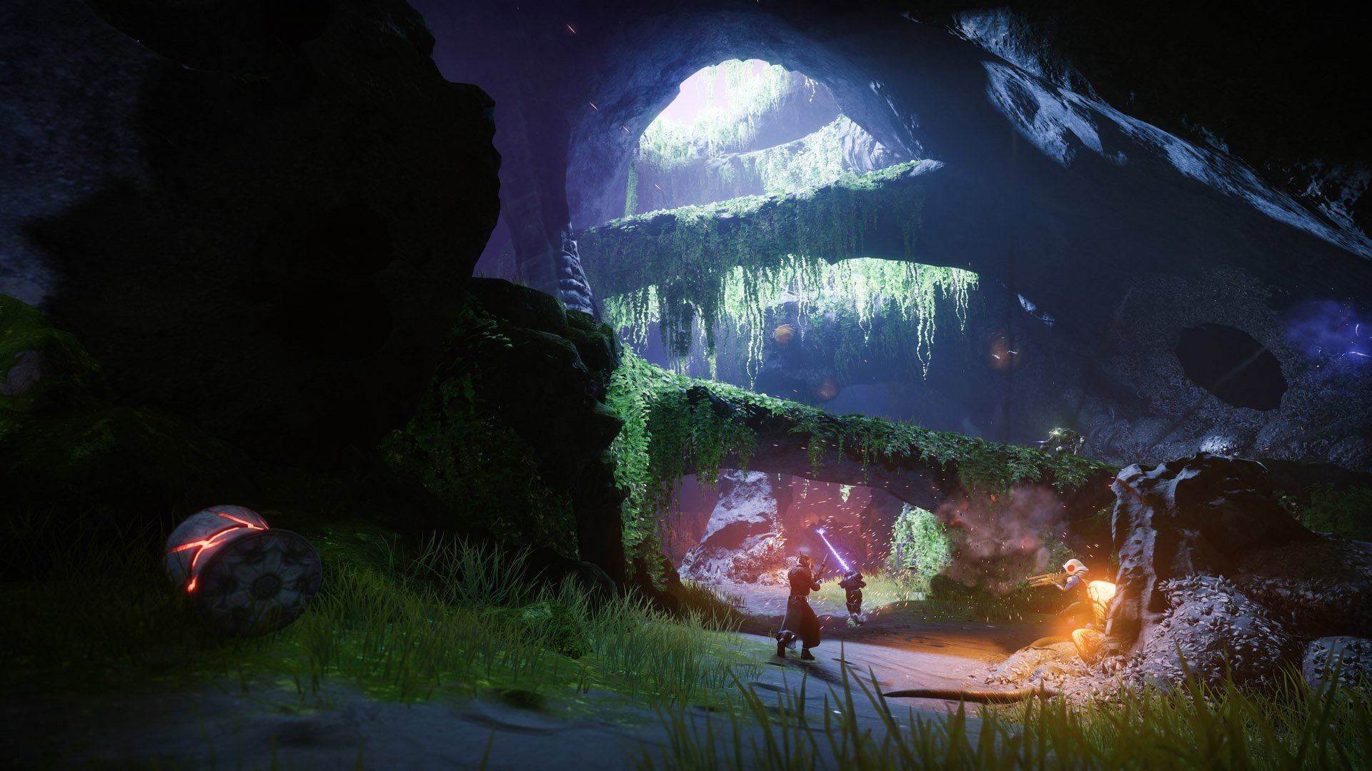 Running through the forest. Where to Find Toland in Destiny 2: Forsaken