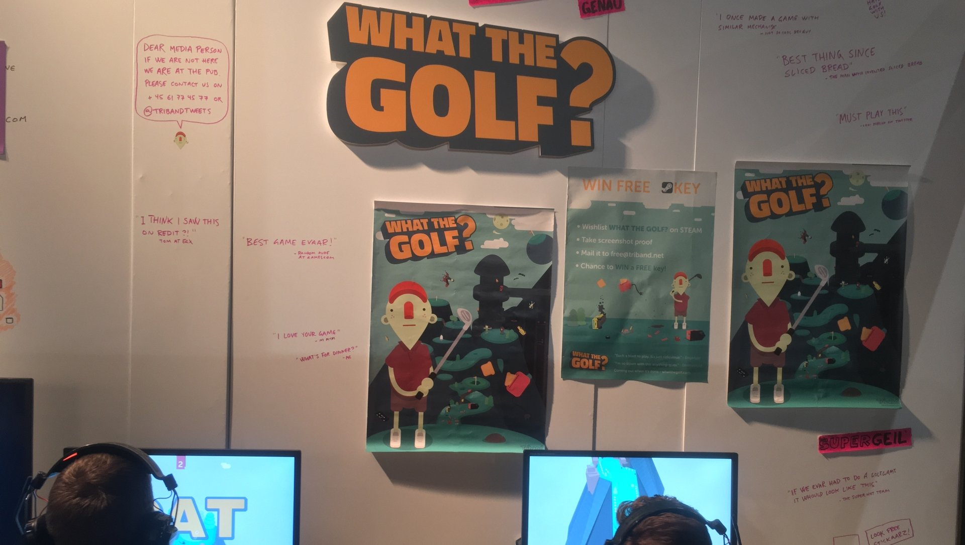 What the Golf? proved particularly popular.