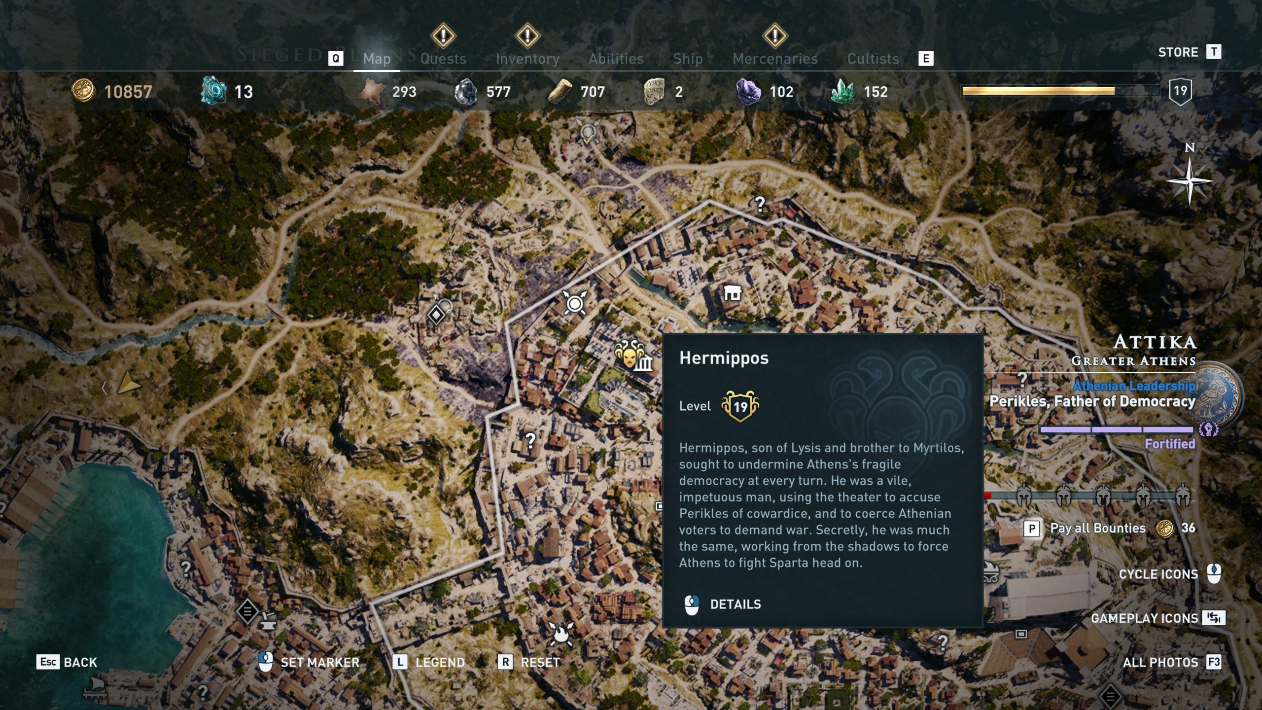 Where to find all The Eyes of Kosmos in Assassin's Creed Odyssey