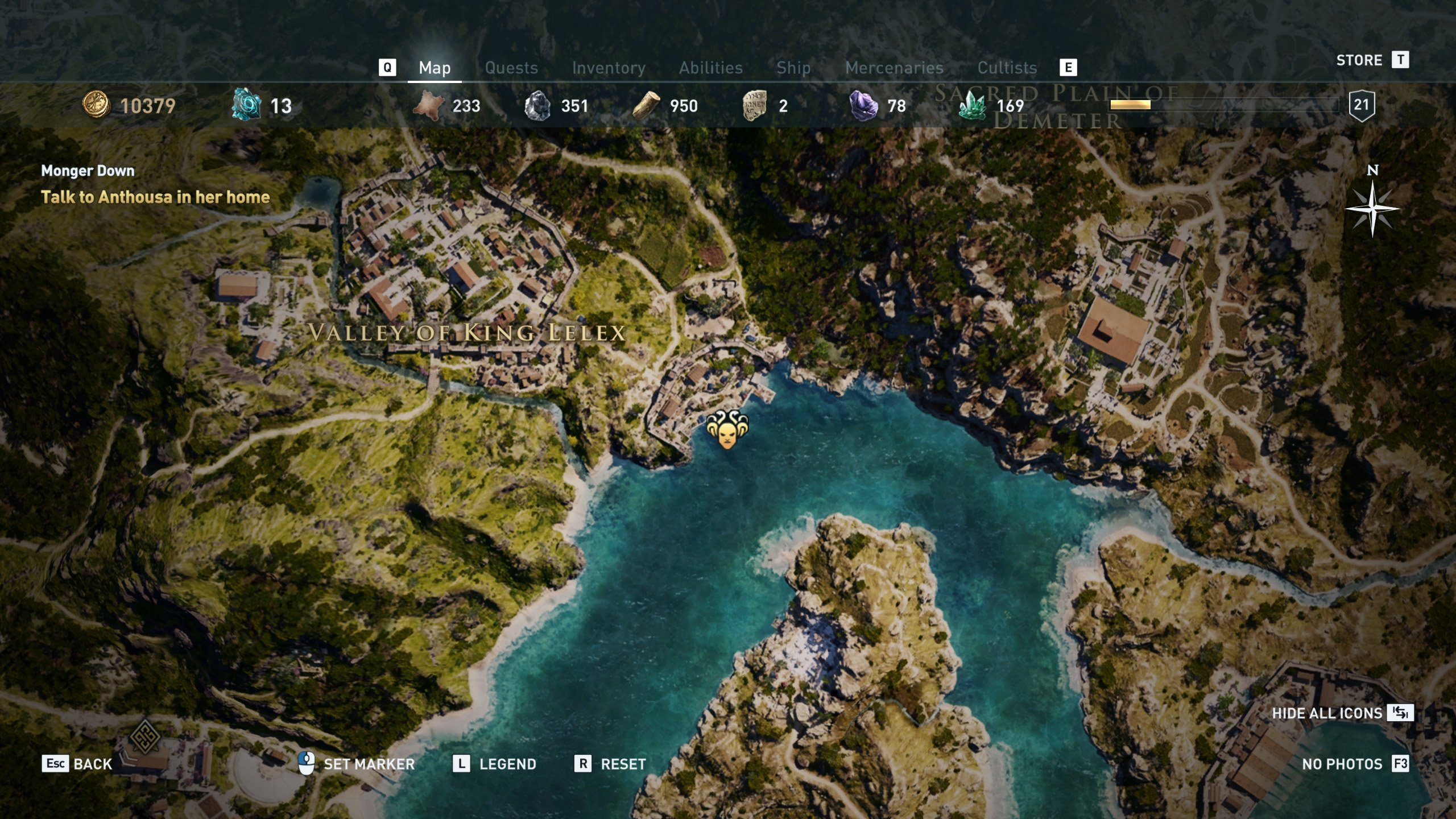 All The Eyes of Kosmos locations in Assassin's Creed Odyssey