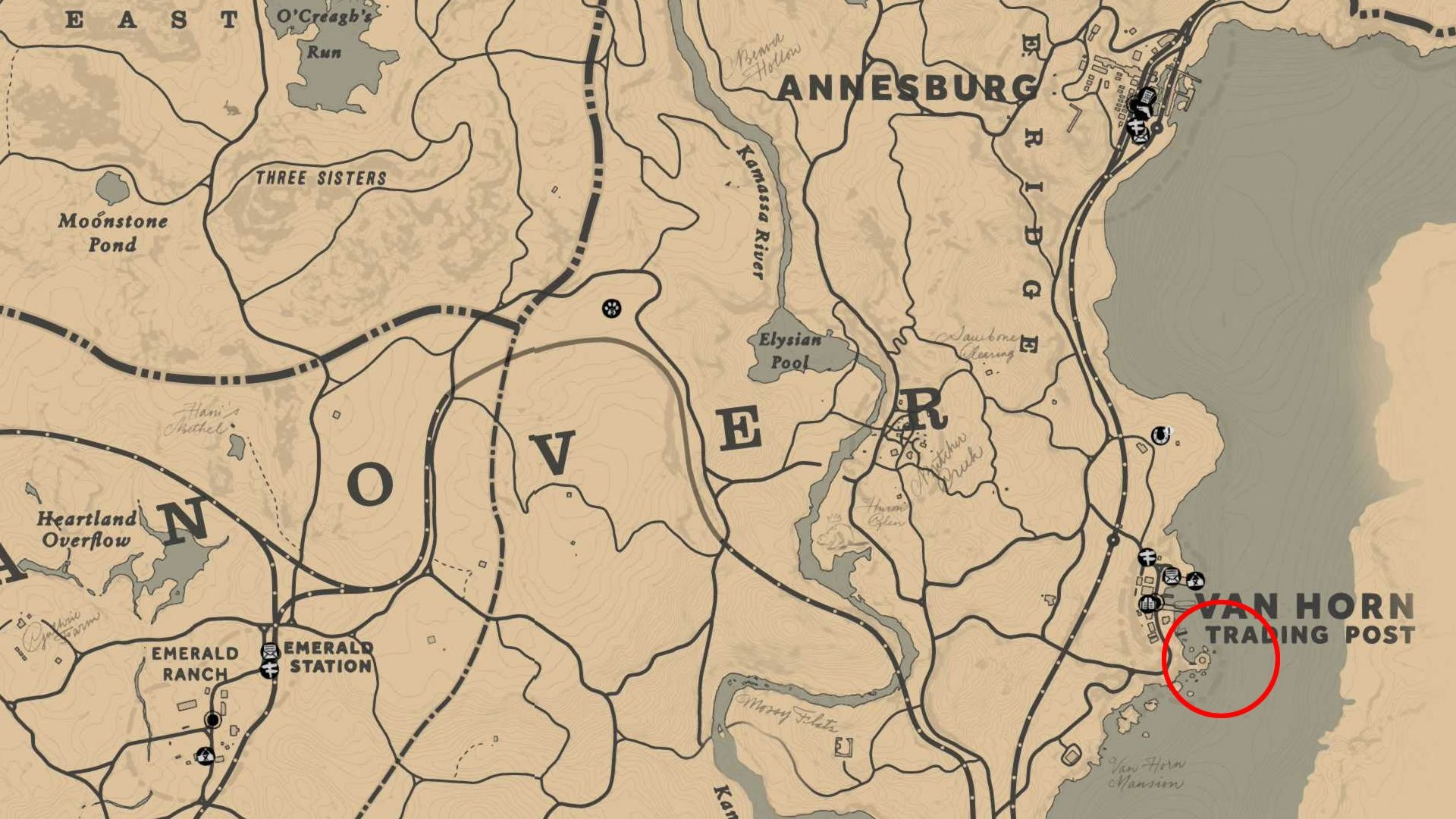 Where to catch Legendary Fish in RDR2
