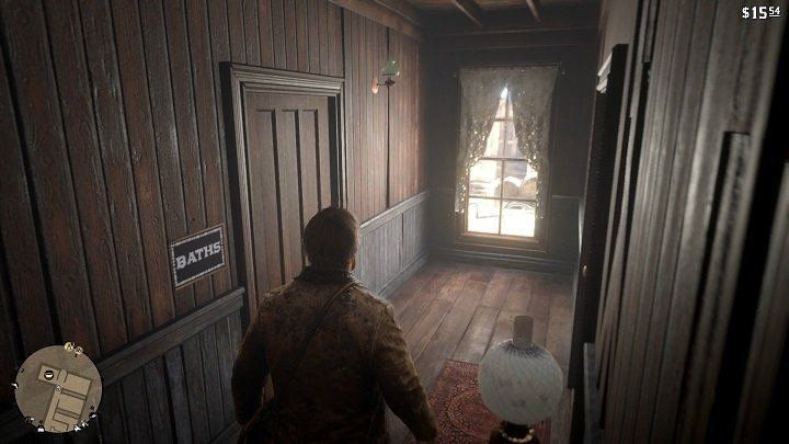 Arthur heads for a bath - How to wash in RDR2