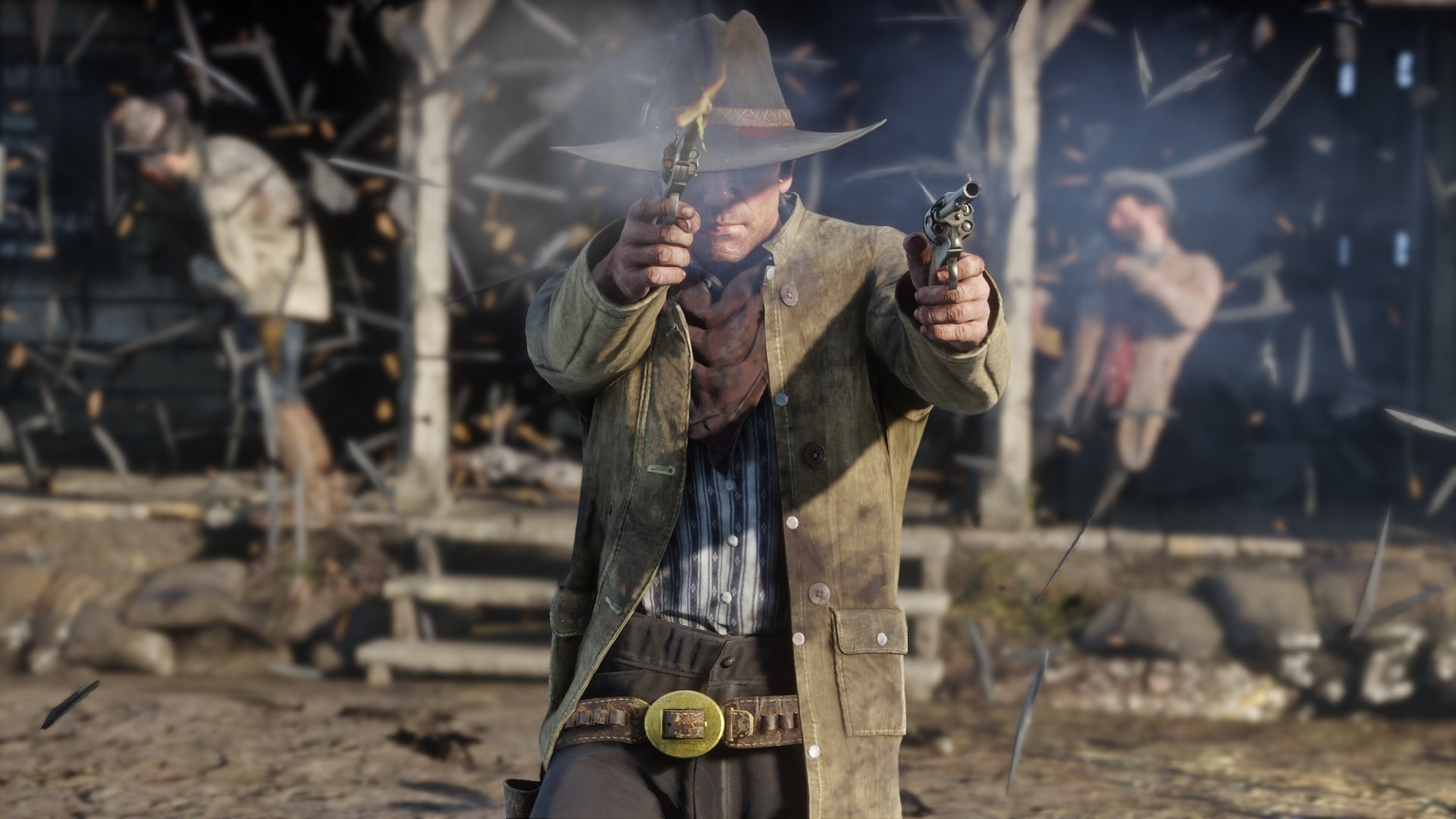 All cheat codes for Red Dead Redemption 2. Firing two guns at once