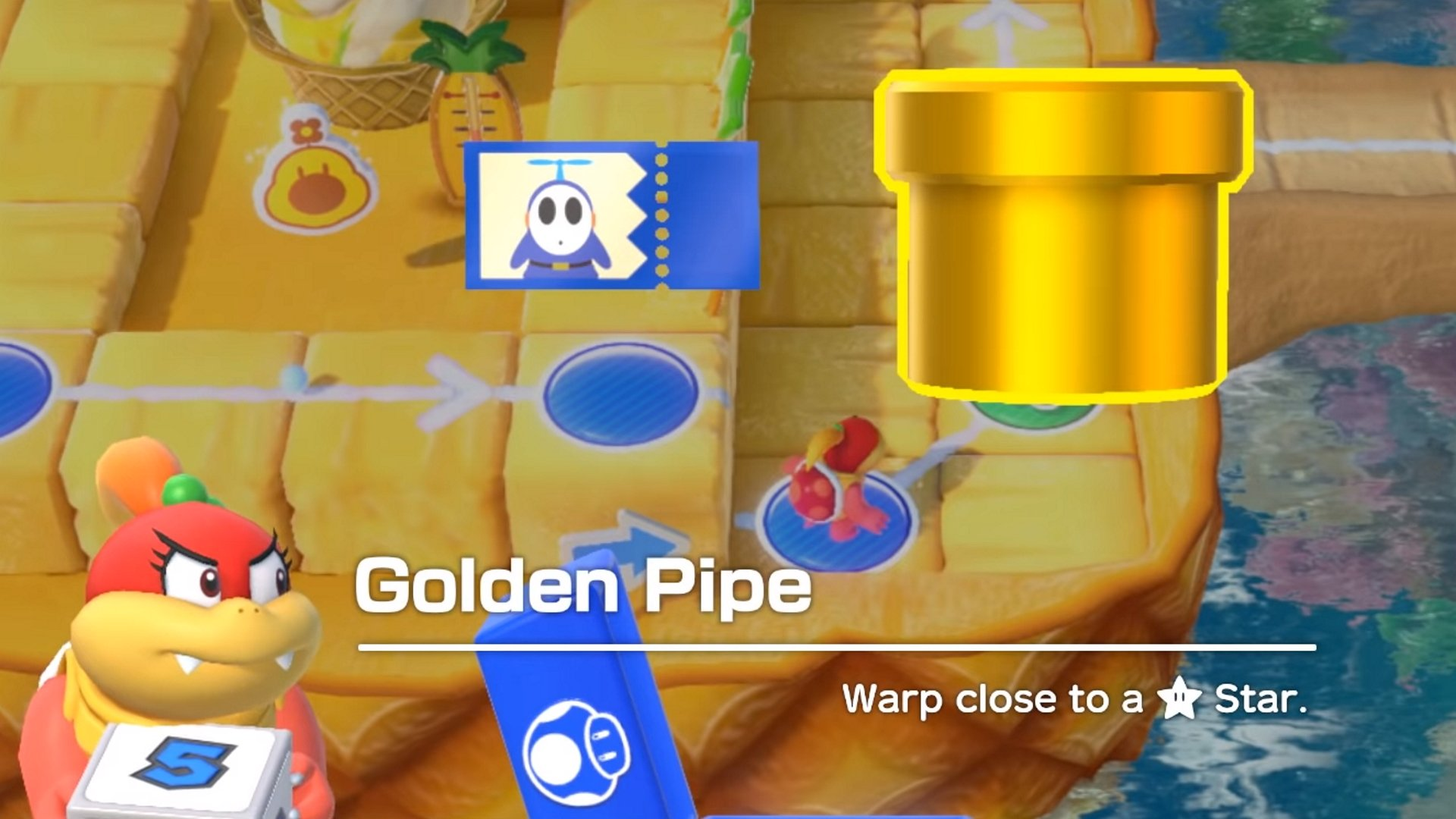One of the many items that can ruin your day. © Nintendo