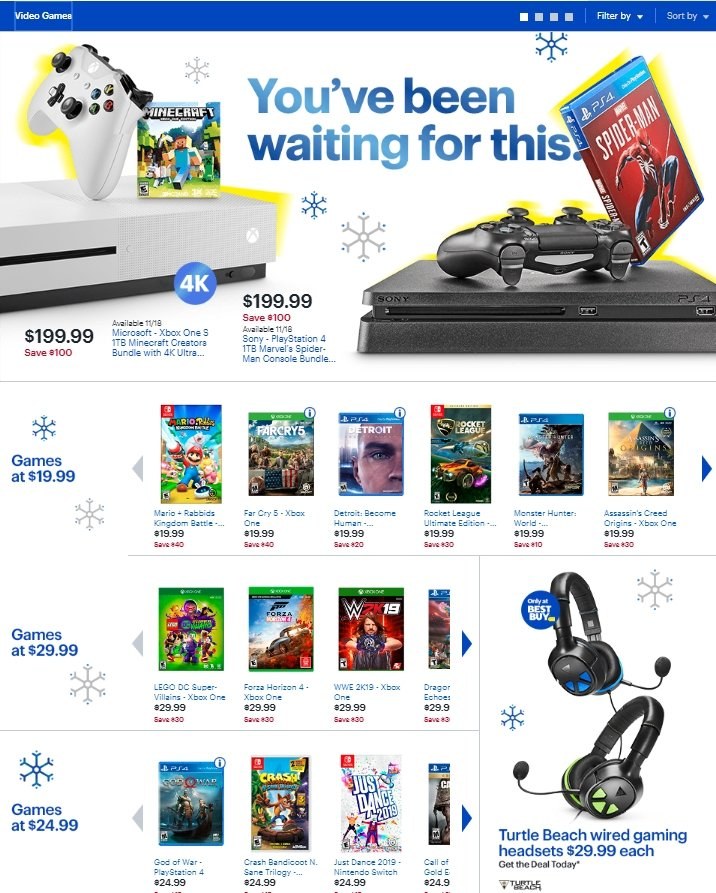The Best Buy Black Friday 2018 ad is here | AllGamers