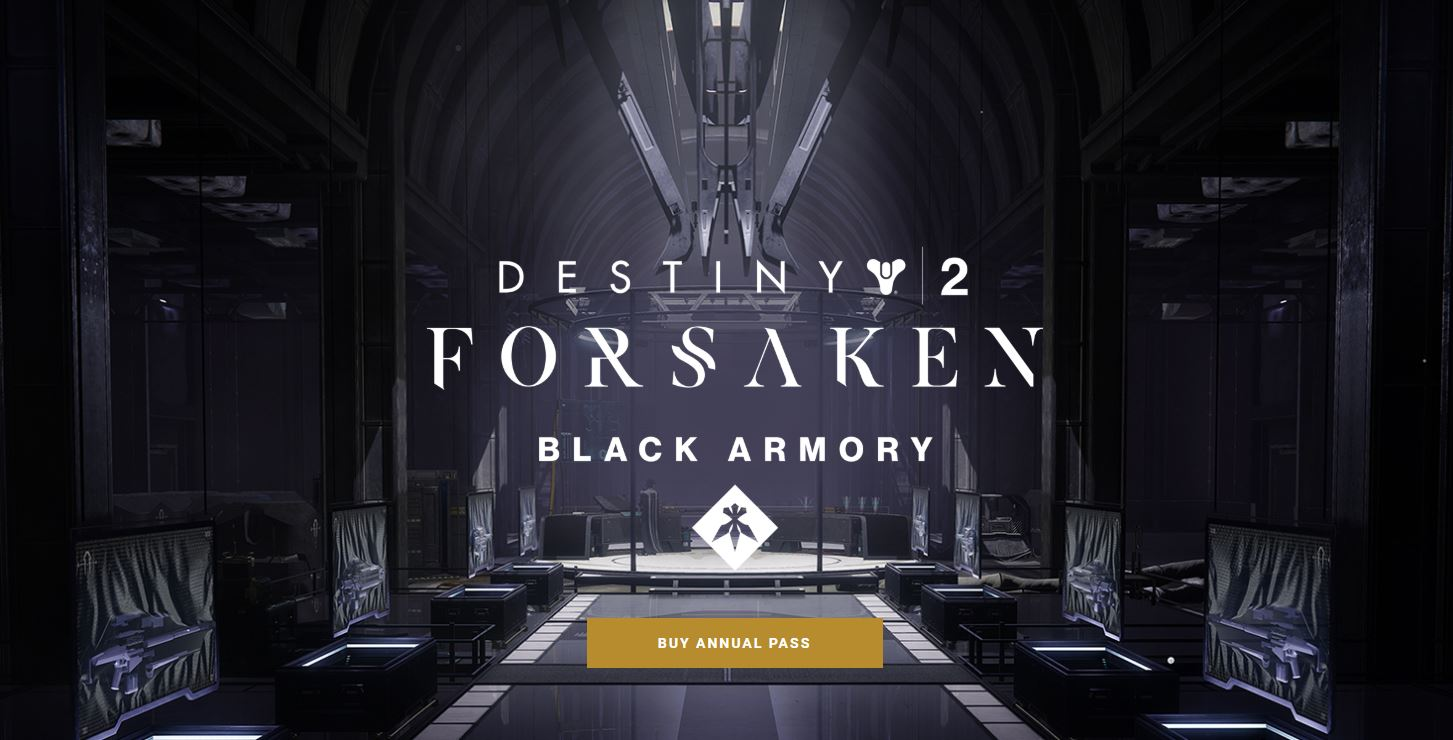 b0b35ec2f6f The Black Armory mini-expansion will be included as part of Destiny 2 s new  Annual