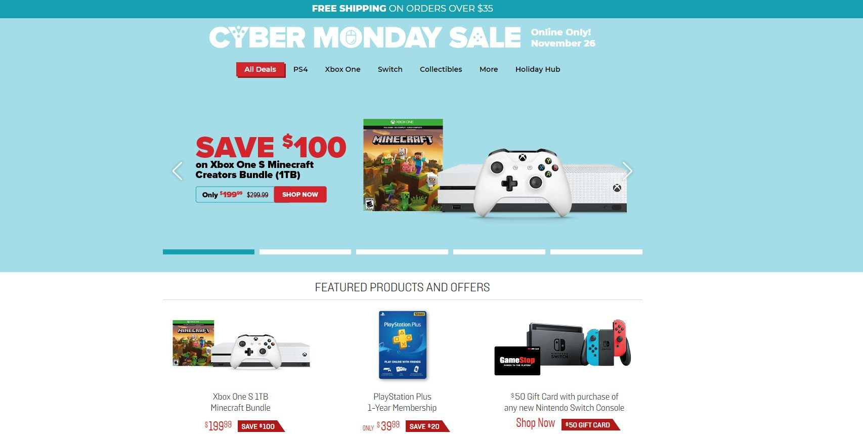 The Best Cyber Monday 2018 Deals At Gamestop Allgamers