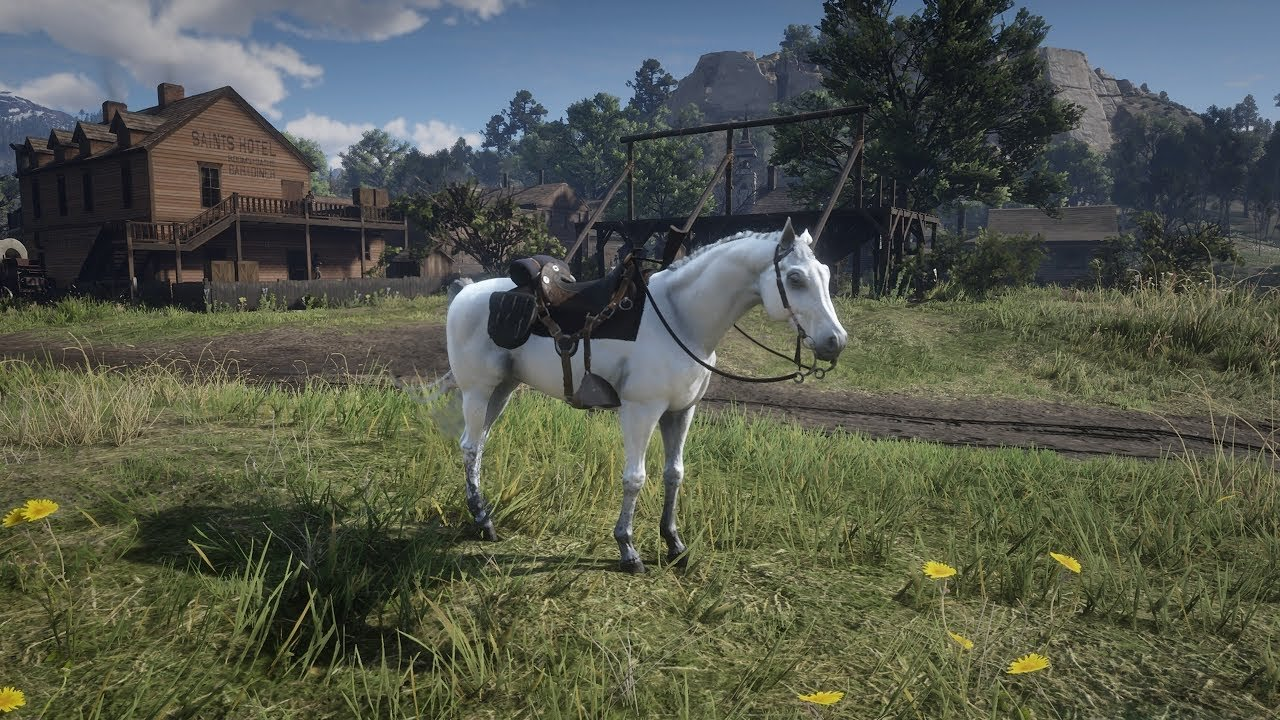 How To Get The Rarest Horse In Red Dead Redemption 2 Allgamers