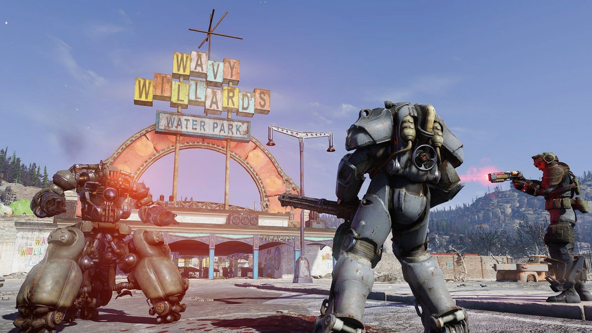 Where to get Power Armor in Fallout 76   AllGamers