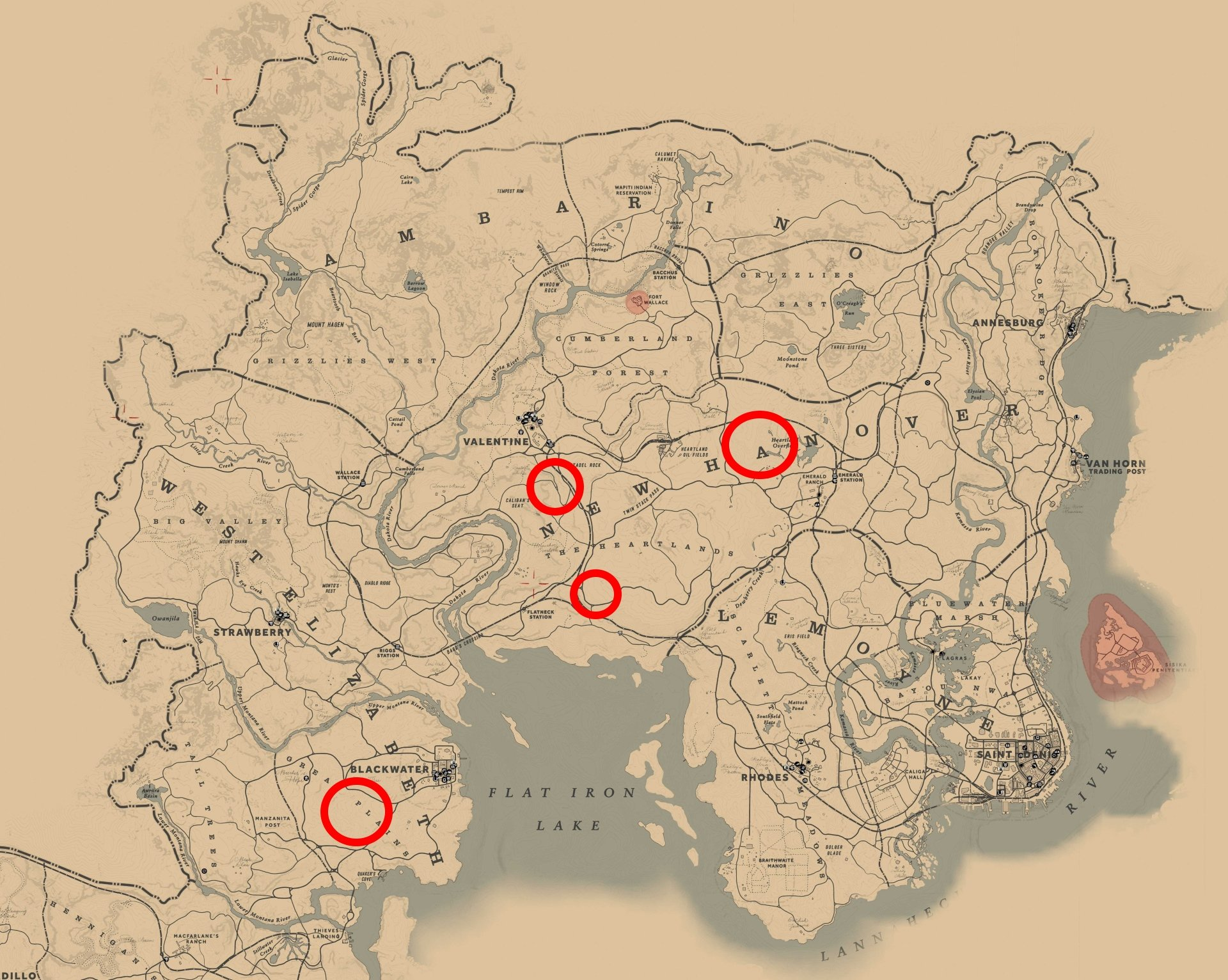 Where to find and hunt Bison in RDR2