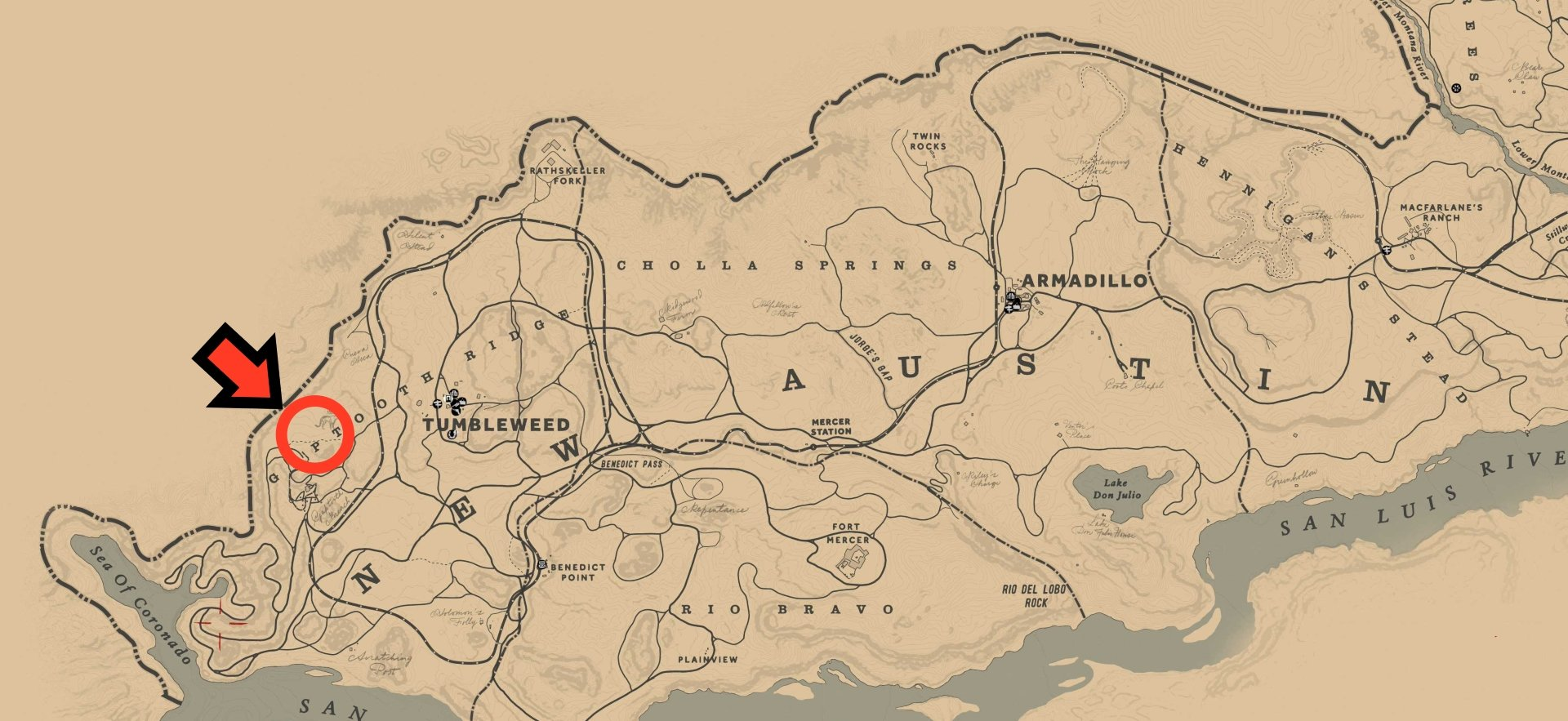 Where to find and hunt the Legendary Cougar in RDR2