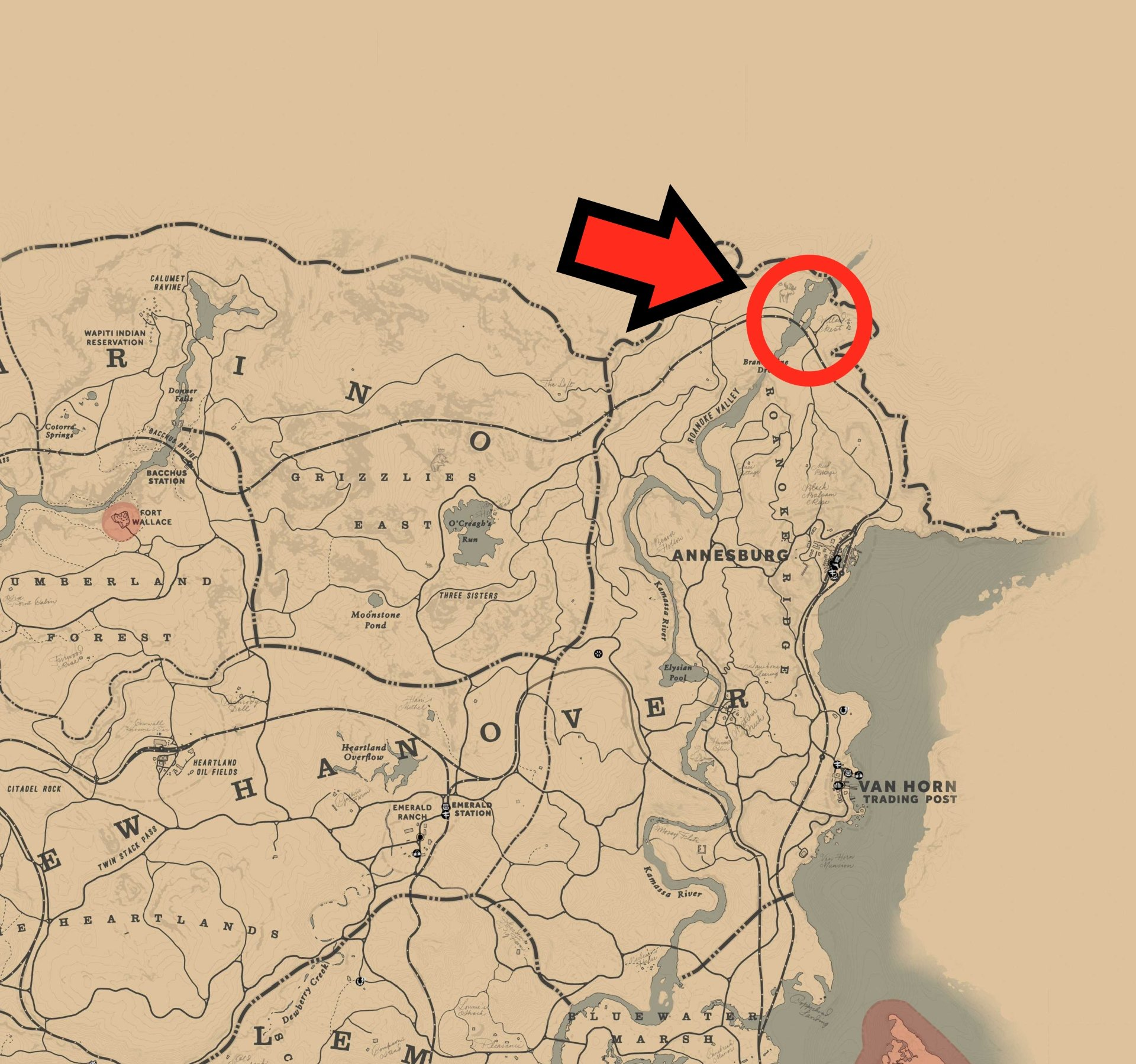 Where to find and hunt the Legendary Moose in RDR2