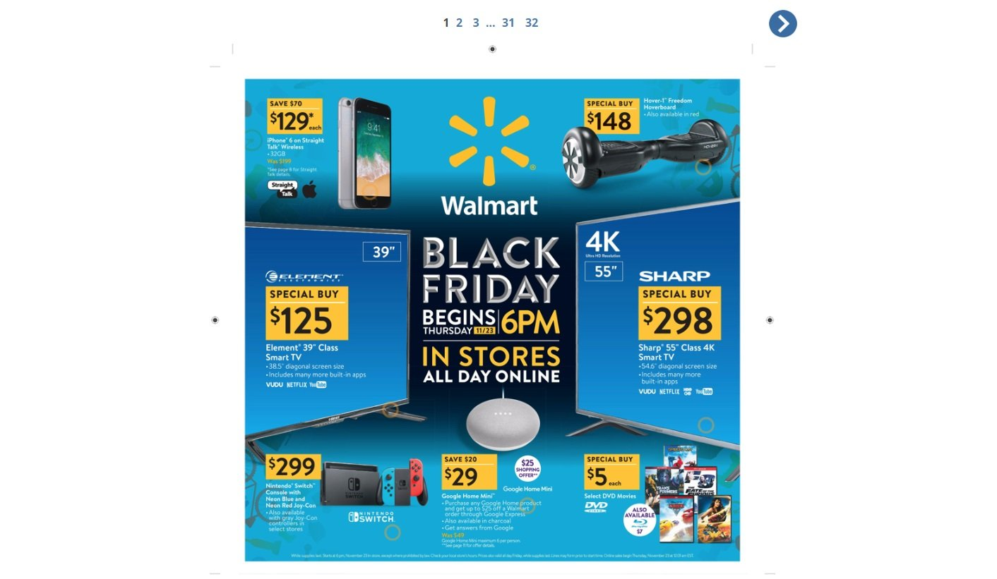 Black Friday 2018 ad for Walmart now live | AllGamers