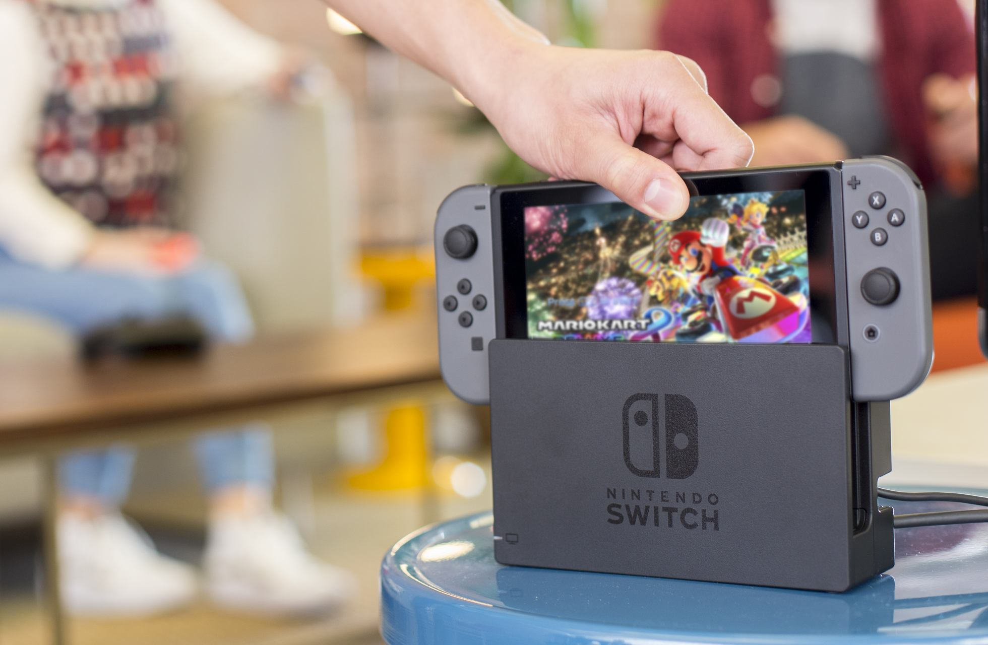 Games with Nintendo Switch