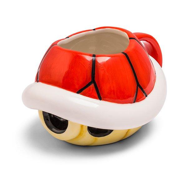 Super Mario turtle mug