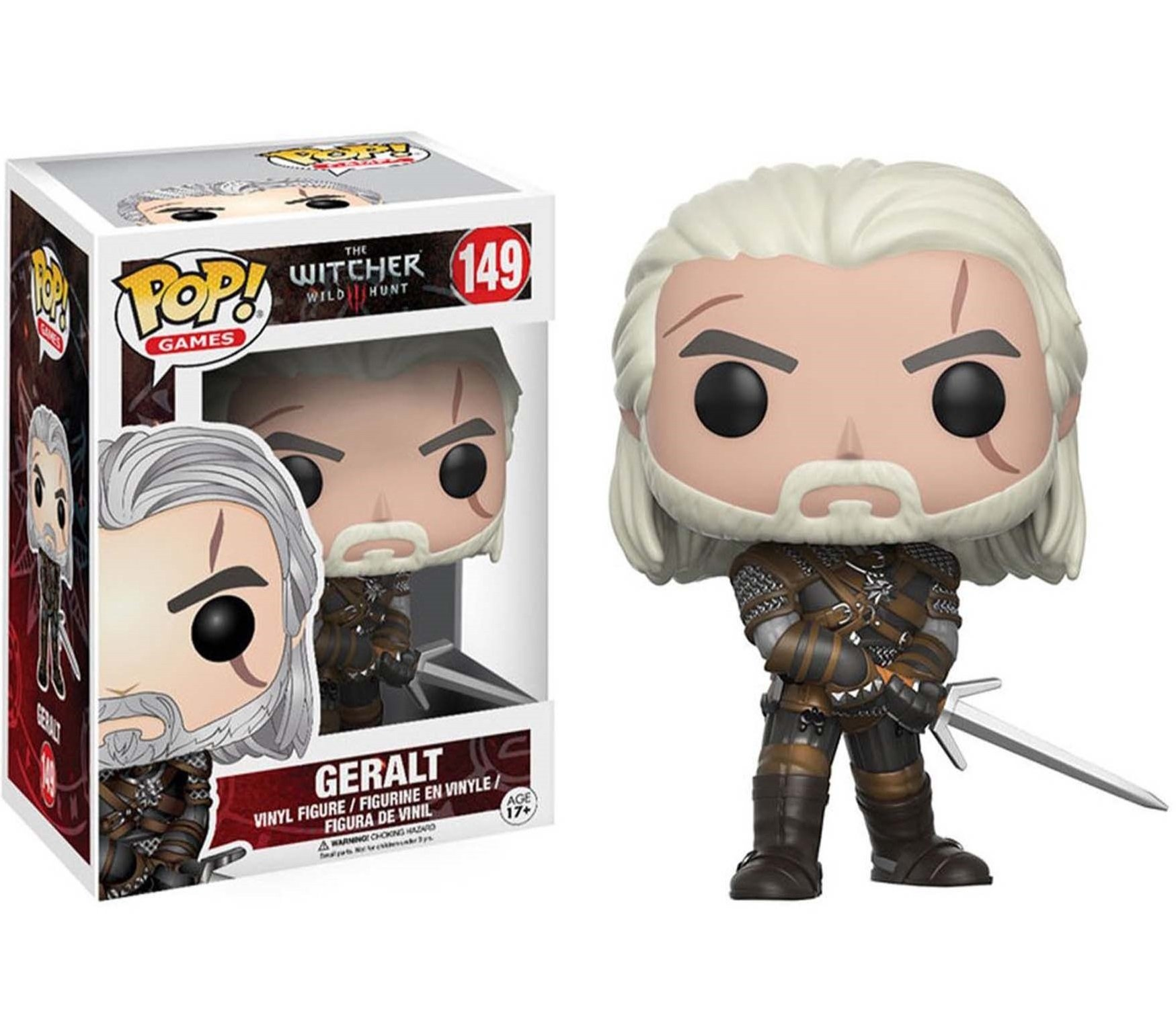 Funko POP figure Geralt