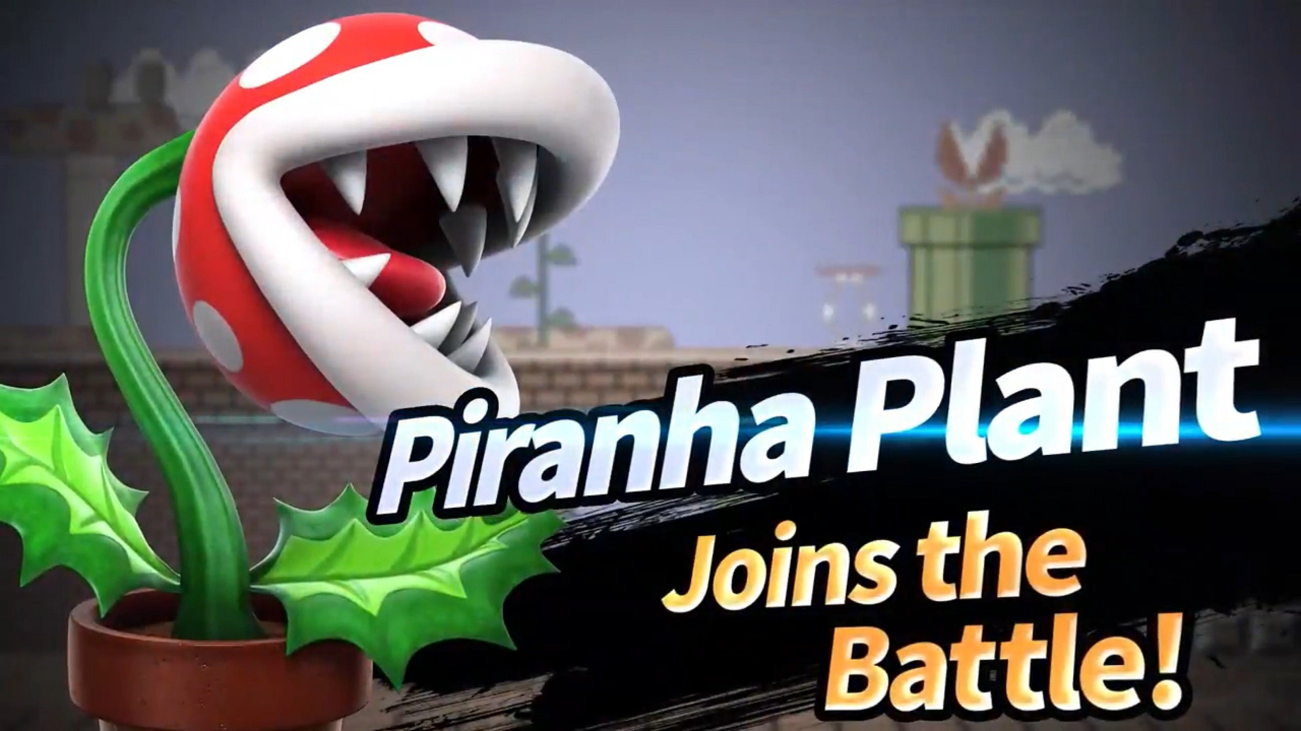 How to get Piranha Plant in Smash Bros Ultimate