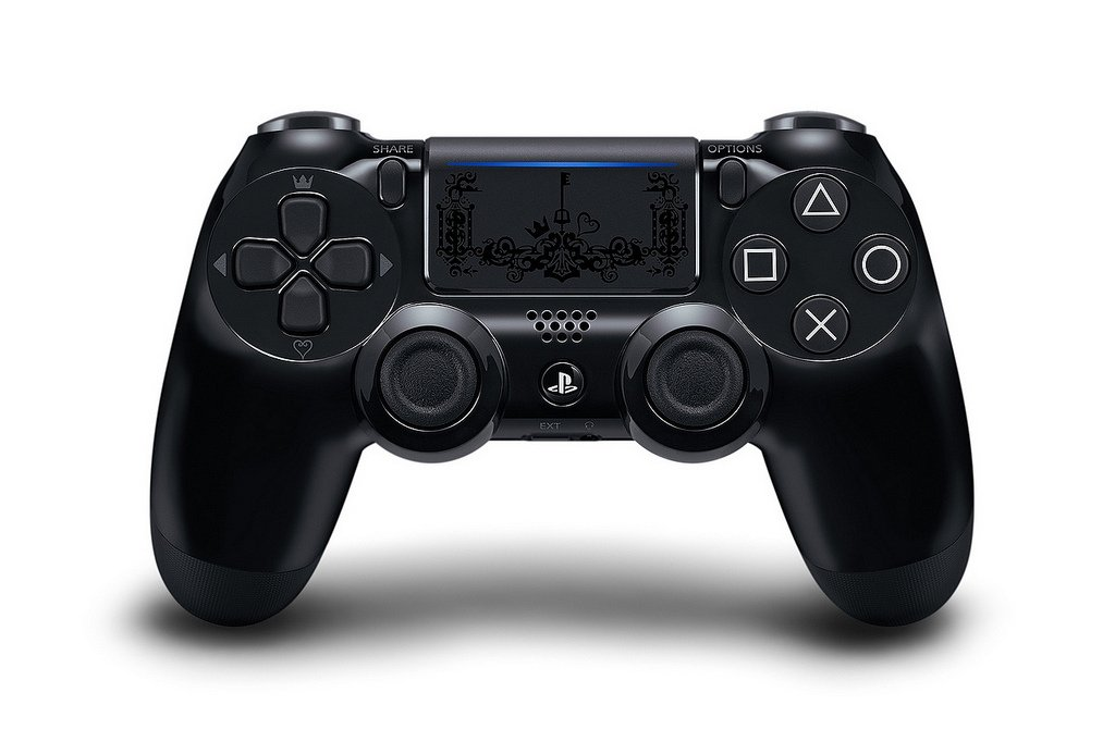 Kingdom Hearts 3 edition DualShock controller for PS4 Pro