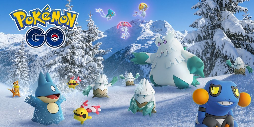 Pokemon GO Winter Holidays event