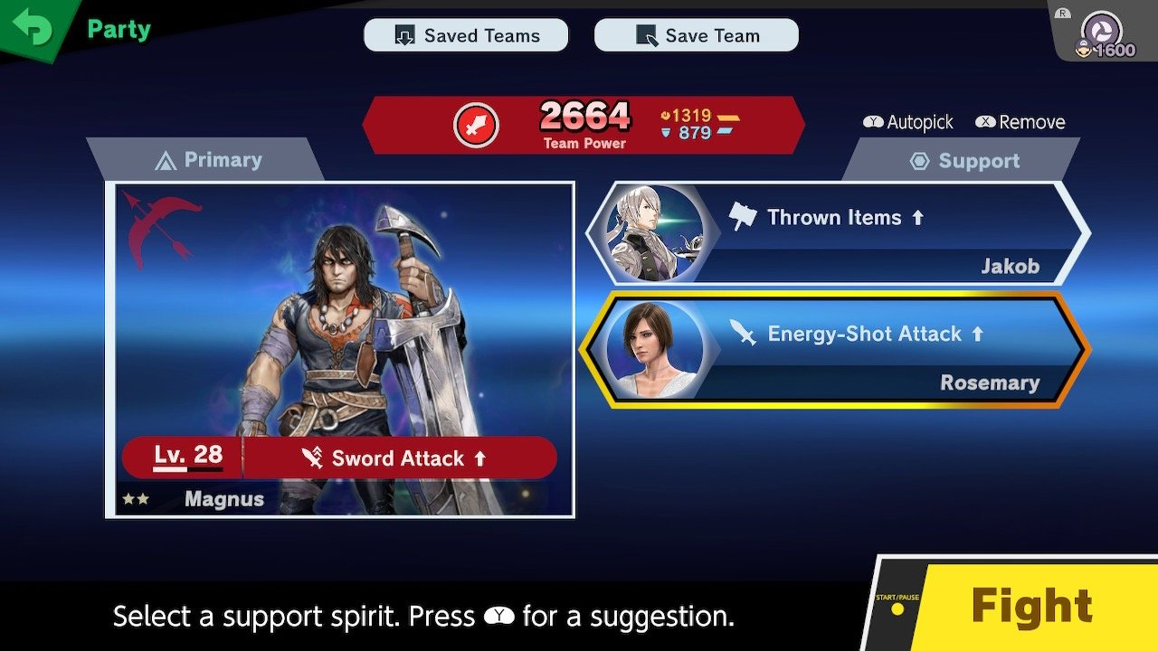 Super Smash Bros. Ultimate's Spirits grant buffs and stat boosts.