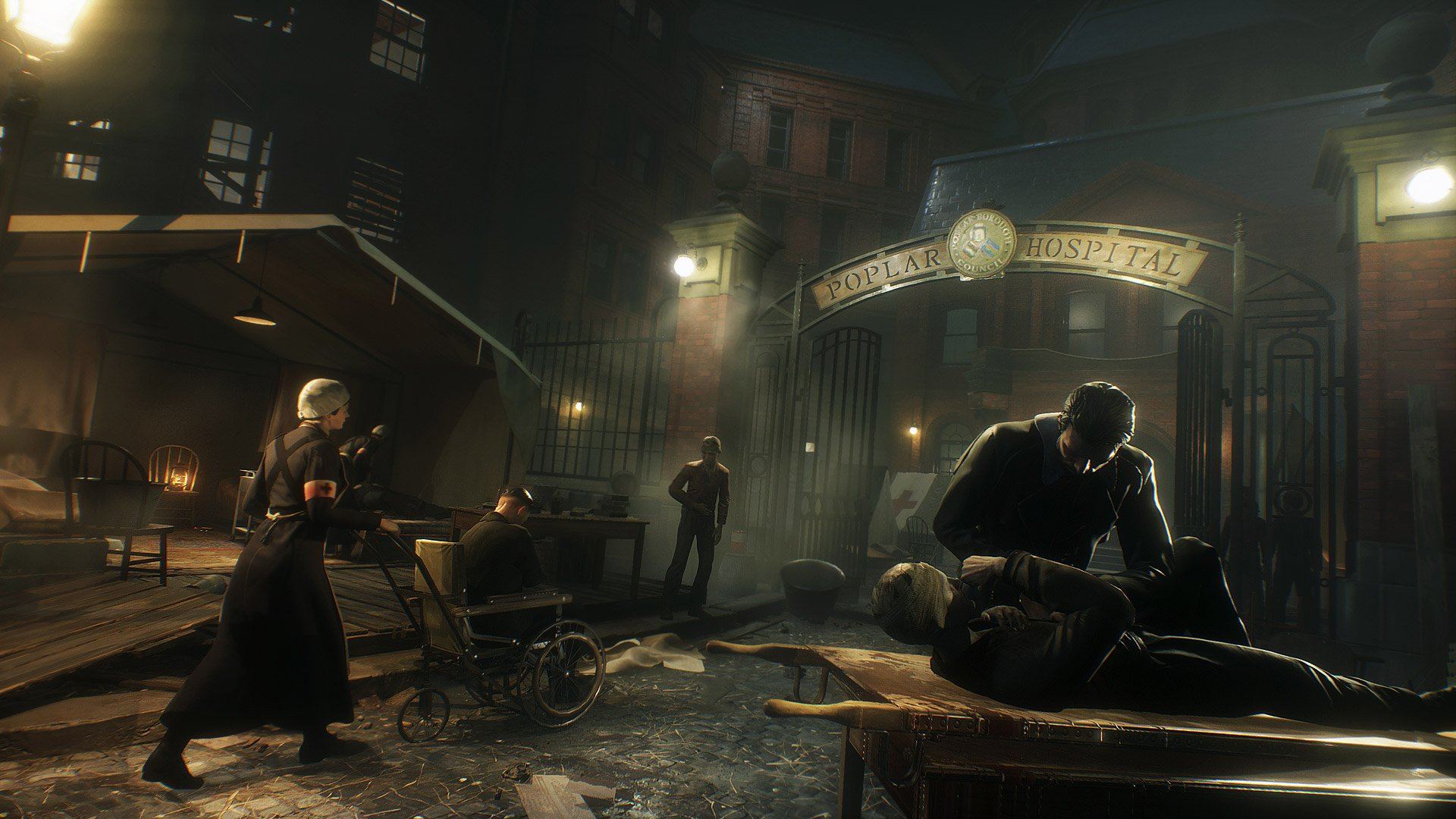 Vampyr game from Dontnod Entertainment