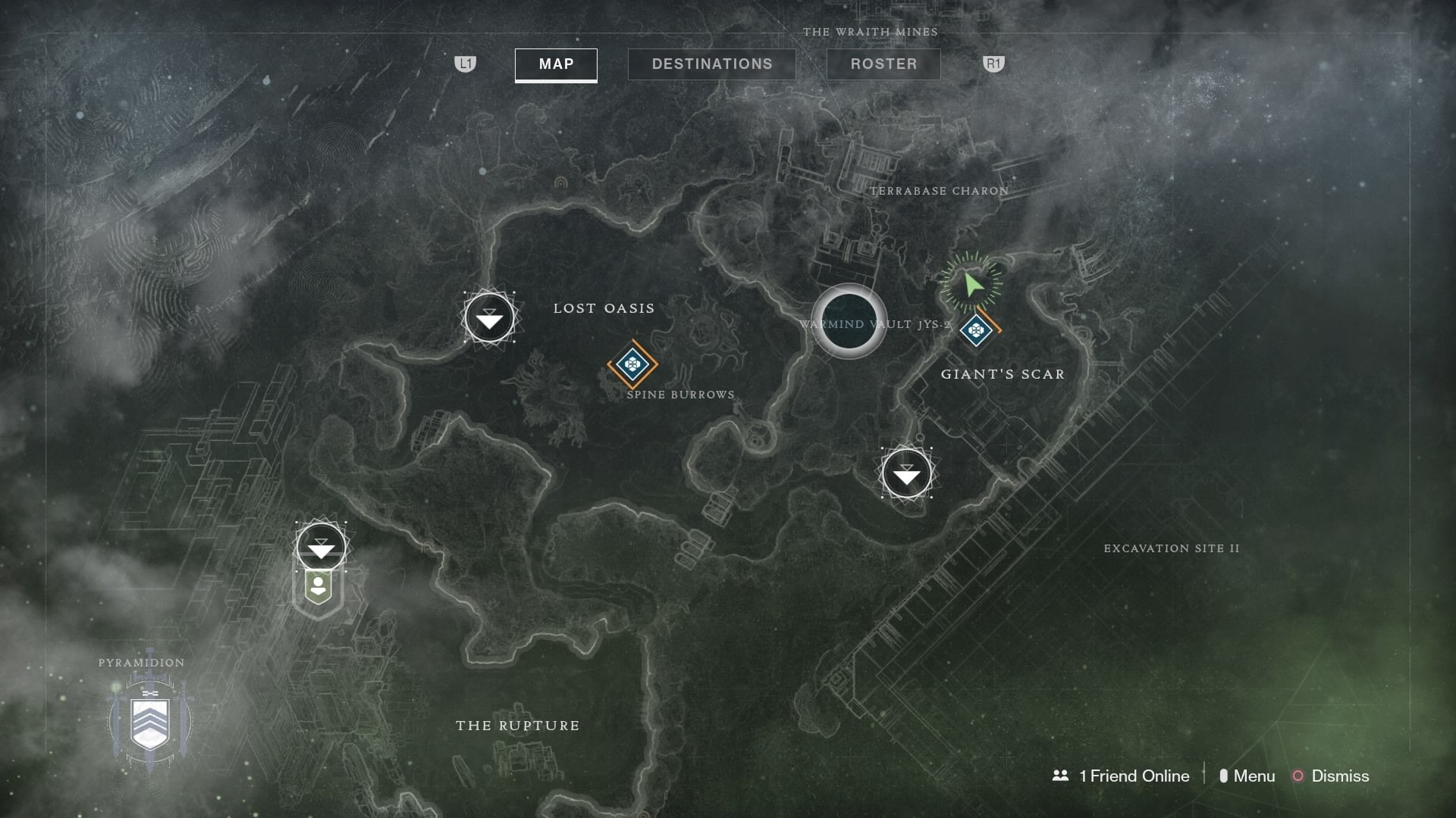 Xur location in Destiny 2 during the week of December 14
