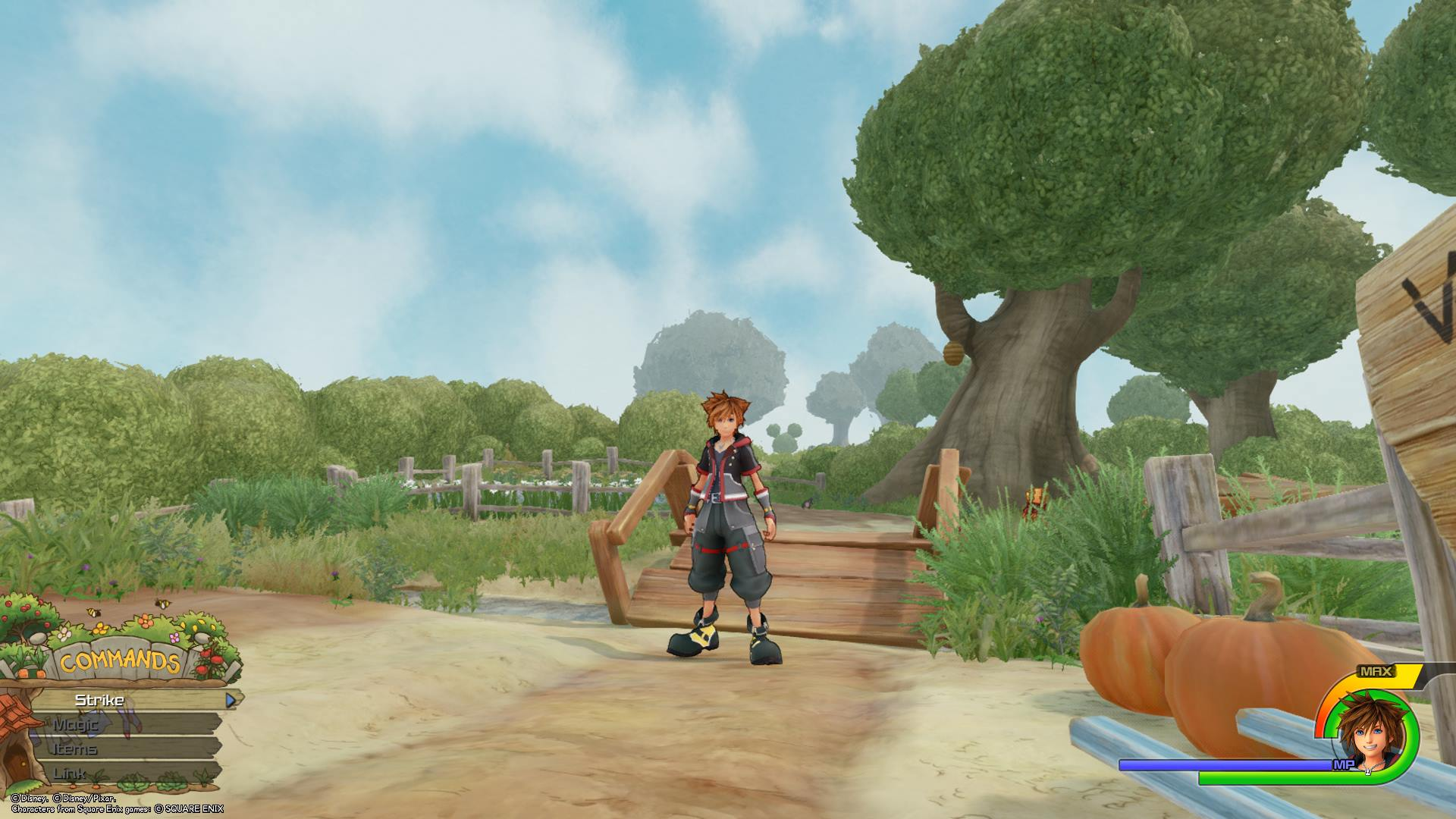 First 100 Acre Wood Lucky Emblem location in Kingdom Hearts 3
